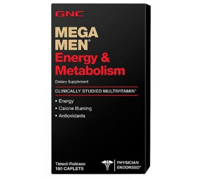 GNC Mega Men Energy & Metabolism 90 таблеток в Киеве