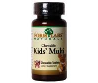 Form Labs Kid's Multi 45 жевательных таблеток