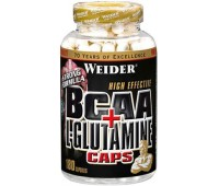 Weider BCAA + Glutamine 180 капсул