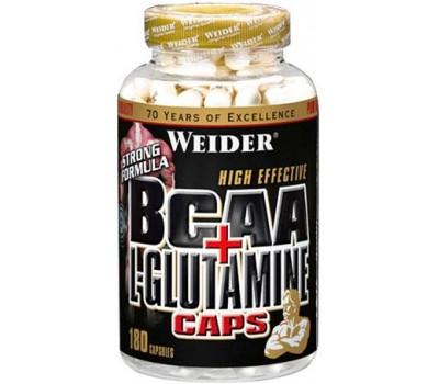 Weider BCAA + Glutamine 180 капсул в Киеве