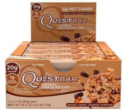 Quest Bar Oatmeal Chocolate Chip 12Х60g в Киеве