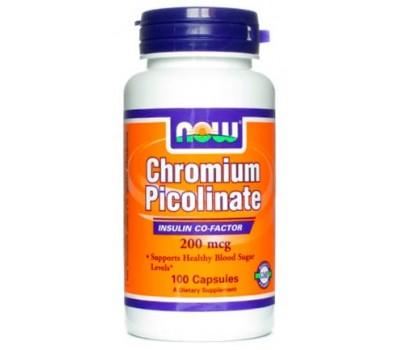NOW Chromium Picolinate 100 капсул в Киеве