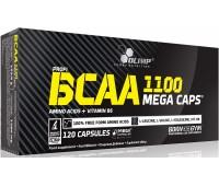 BCAA mega caps 1100 Olimp 120 капсул