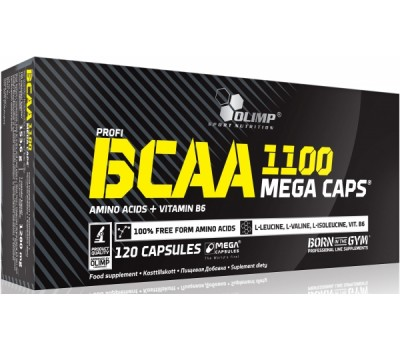 BCAA mega caps 1100 Olimp 120 капсул в Киеве