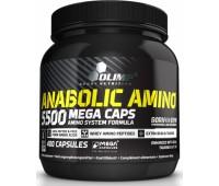 Anabolic Amino 5500 mega caps Olimp 400 капсул