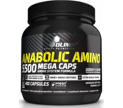 Anabolic Amino 5500 mega caps Olimp 400 капсул в Киеве