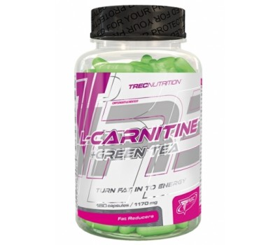L-CARNITINE + GREEN TEA TREC 180 капсул в Киеве