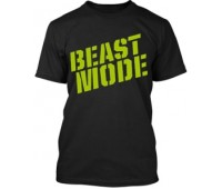 Футболка Beast Mode модель 5-1 черная (L, XL)