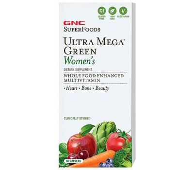 GNC Ultra Mega Green Women's 60 каплет в Киеве