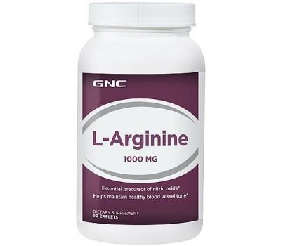 L-Arginine GNC 1000 mg 90 капсул в Киеве