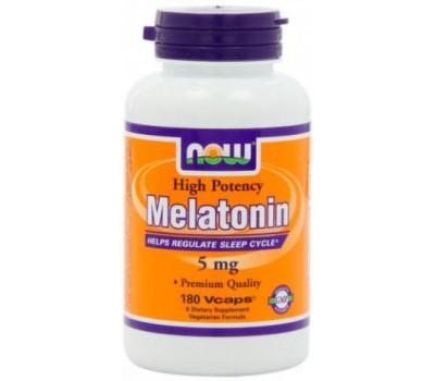 Melatonin 5 mg NOW 180 капсул в Киеве