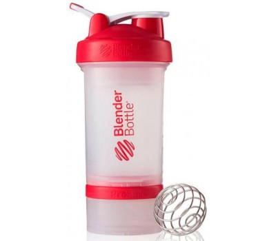 Shaker Blender Bottle ProStak 650 ml clear red в Киеве