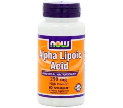NOW Alpha Lipoic Acid 250 mg 60 капсул в Киеве