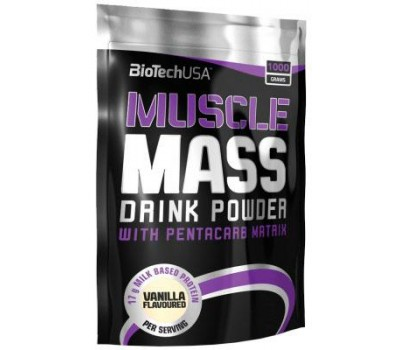 BioTech USA Muscle Mass 1000g в Киеве