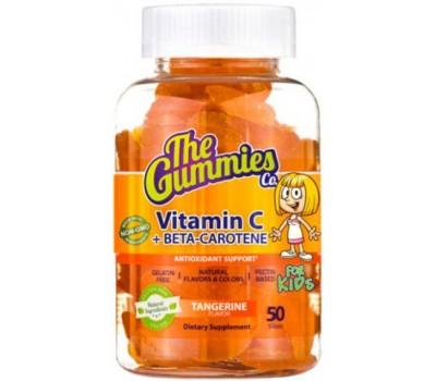 The Gummies Kids Vitamin C & Beta Carotene 50 желеек в Киеве