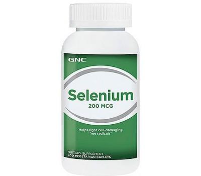 GNC Selenium 200 mcg 200 каплет в Киеве