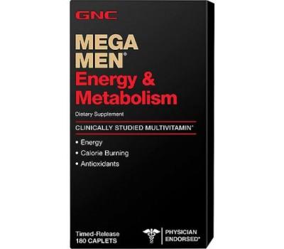 GNC Mega Men Energy & Metabolism 180 таблеток в Киеве