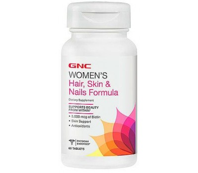 GNC Women's Hair Skin Nails Formula 60 таблеток в Киеве