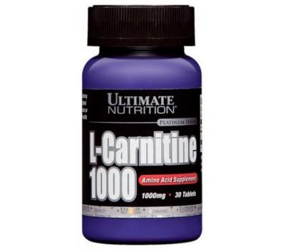 Ultimate Nutrition L-Carnitine 1000 mg 30 таблеток в Киеве