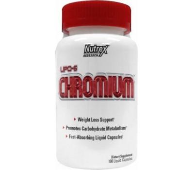 Nutrex Lipo-6 Chromium 100 капсул в Киеве