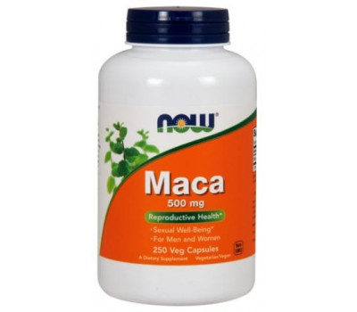 NOW Foods Maca 500 mg 250 veg capsules в Киеве