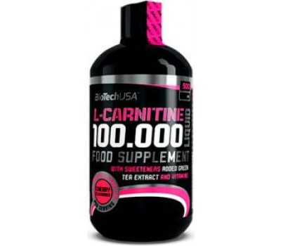 L-Carnitine 100000 Liquid BioTech USA 500 ml в Киеве