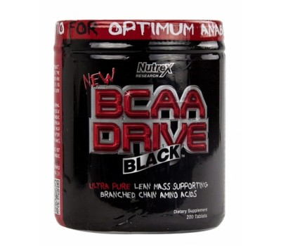 BCAA DRIVE Black Nutrex 200 таблеток в Киеве