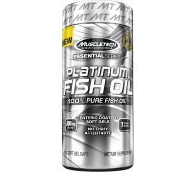 Platinum Fish Oil Muscletech 100 капсул в Киеве