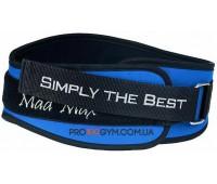 Пояс MadMax MFB-421 синий