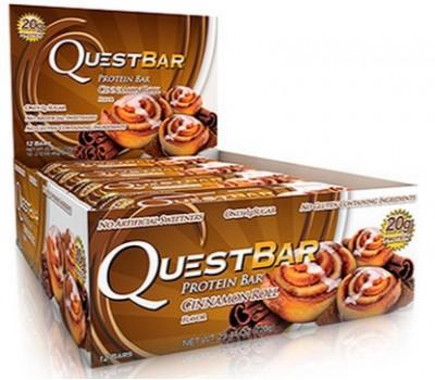 Quest Bar Cinnamon Roll 12х60g в Киеве