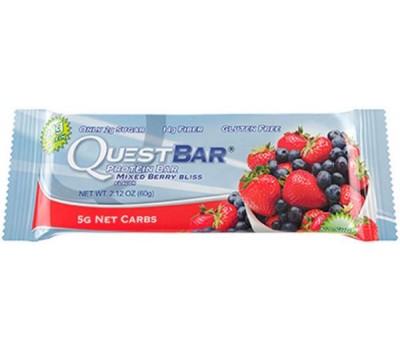 Quest Bar Mixed Berry Bliss 60g в Киеве
