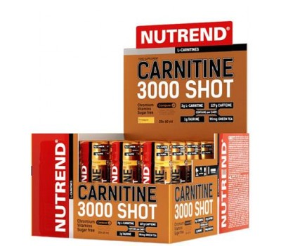 Nutrend Carnitine 3000 Shot 20 x 60 ml в Киеве