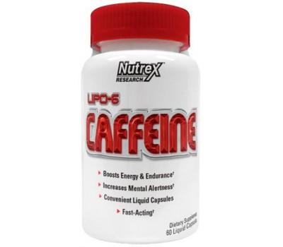 Nutrex LIPO-6 Caffeine 60 капсул в Киеве