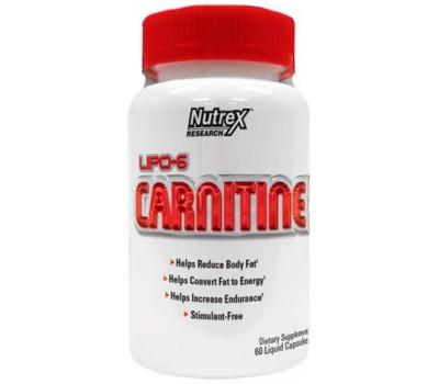 Lipo-6 Carnitine Nutrex 60 капсул в Киеве
