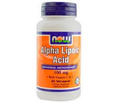 NOW Alpha Lipoic Acid 100 mg 60 капсул в Киеве