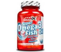 Amix Super Omega-3 Fish Oil 90 капсул