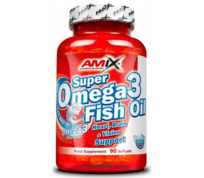 Amix Super Omega-3 Fish Oil 90 капсул в Киеве