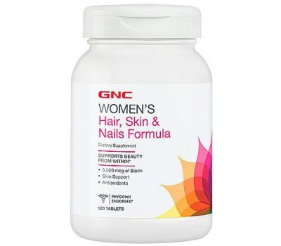 GNC Women's Hair Skin Nails Formula 120 таблеток в Киеве
