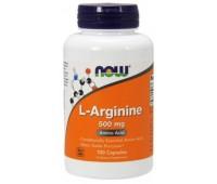 NOW Foods L-Arginine 500 mg 100 капсул