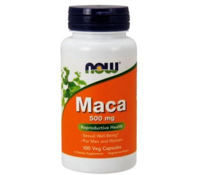 NOW Foods Maca 500 mg 100 veg capsules в Киеве