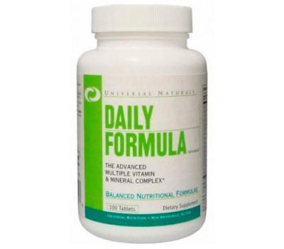 Daily Formula Universal Nutrition 100 таблеток в Киеве