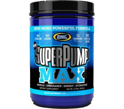 SuperPump Max Gaspari Nutrition 640g (40 порций) в Киеве