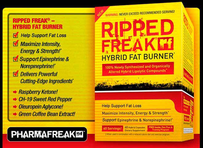 PharmaFreak-Ripped-Freak-Hybrid-Fat-Burner-банер