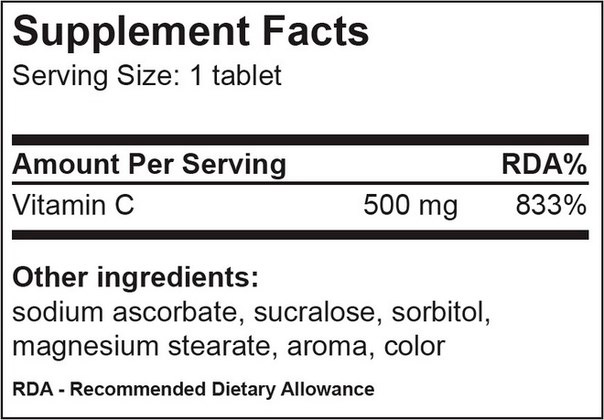 Vitamin C 500 mg BioTech
